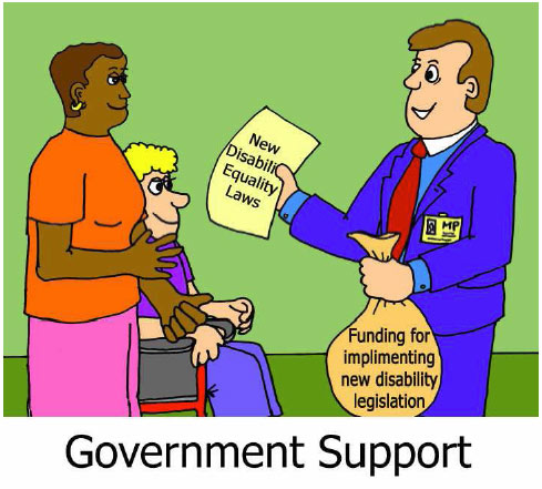 Removing Barriers: Government Support